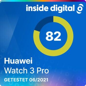 Huawei Watch 3 Pro Test-Siegel