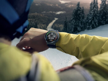 Huawei Watch GT2 Pro beim Skifahren