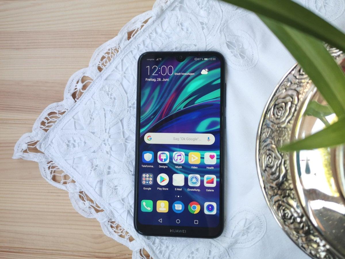 Huawei Y7 2019 Im Test Zwischen Den Stühlen