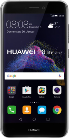 Huawei P8 lite 2017 Single SIM Datenblatt - Foto des Huawei P8 lite 2017 Single SIM