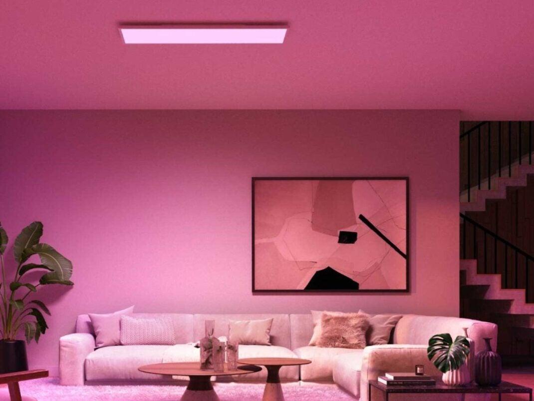 Panel de luz de colores: Hue Surimu