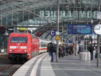 IC 1 in Berlin