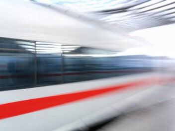 Bahn Abfahrt