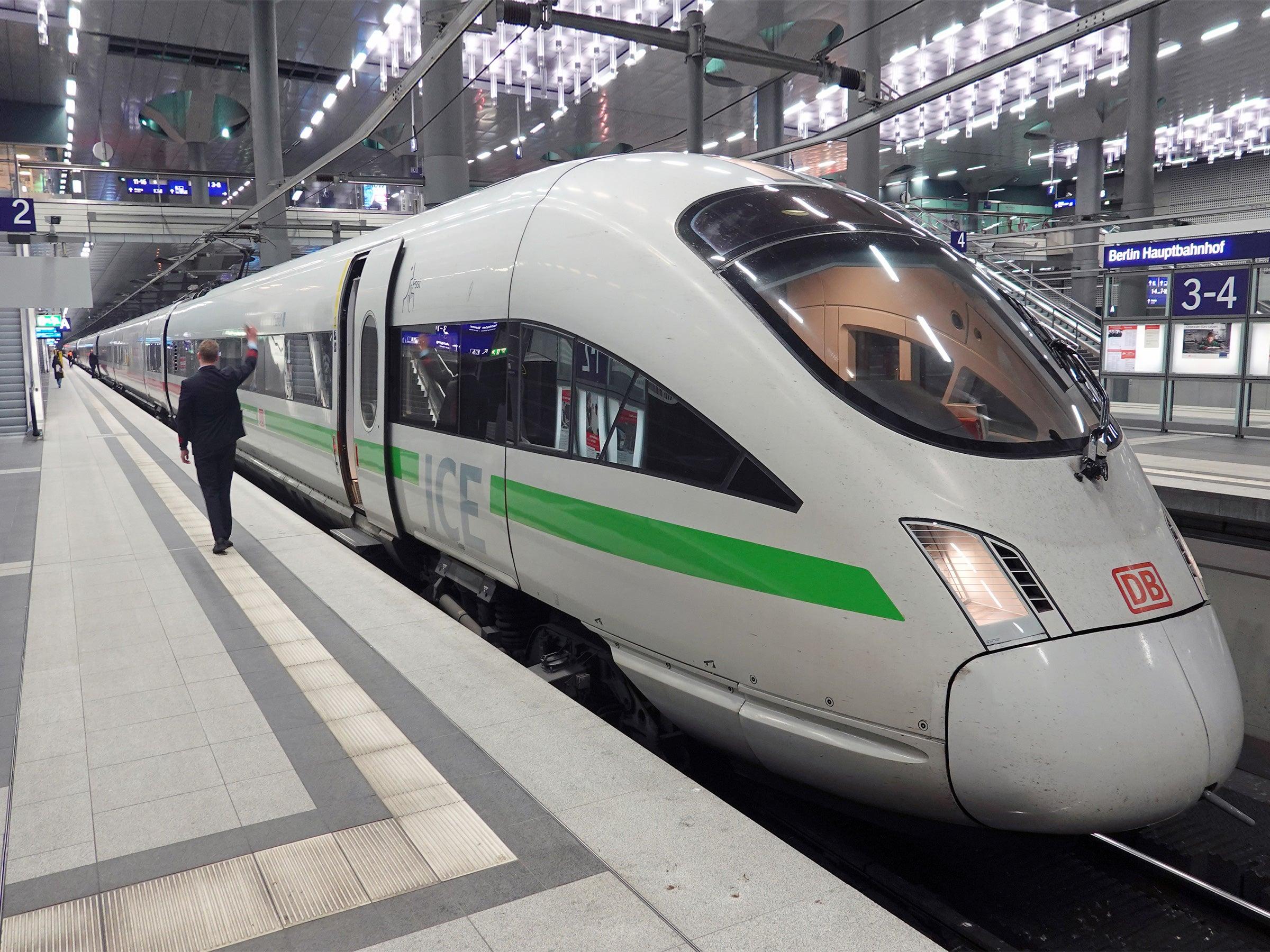 Corona Deutsche Bahn