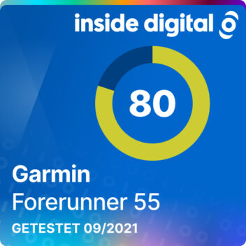 Garmin Forerunner 55 im Test - Testsiegel