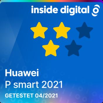 Testsiegel Huawei P smart 2021