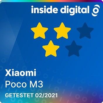 Testsiegel Xiaomi Poco M3