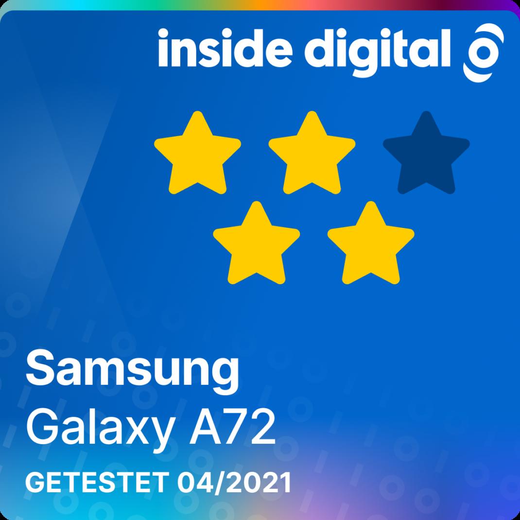 Samsung Galaxy A72 im Test