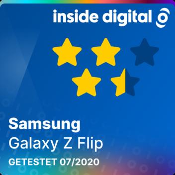 Testsiegel Samsung Galaxy Z Flip