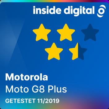 Motorola Moto G8 Plus Testsiegel