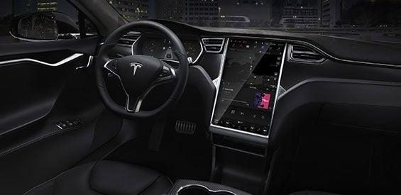 Cockpit eines Connected Cars (Symbolbild)