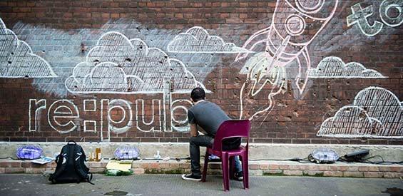 Mural der re:publica