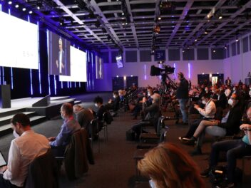 Pressekonferenz auf der IFA - mit Abstand