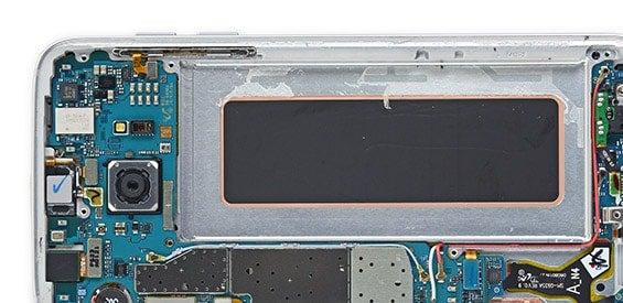 Das Galaxy S7 edge unter der Haube