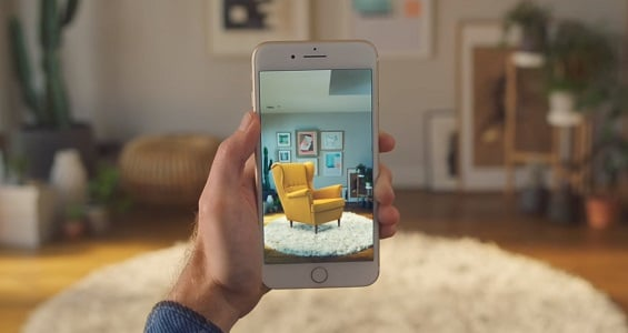 Ikea Place App Möbel Per Augmented Reality Ins Wohnzimmer Holen