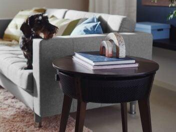 Ikea Starkvind - dieser Tisch ist ein Luftreiniger