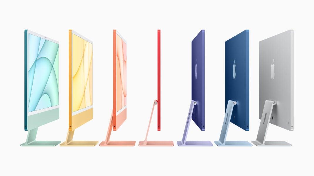 Der neue iMac kommt in 7 bunten Farben daher