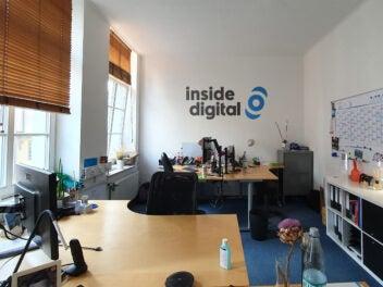 Leeres Büro bei inside digital