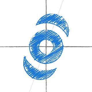 Scribble des neuen inside handy Logos