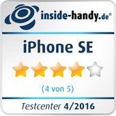 Vier Sterne für das iPhone SE