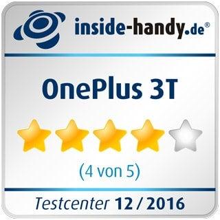 Testsiegel des OnePlus 3T