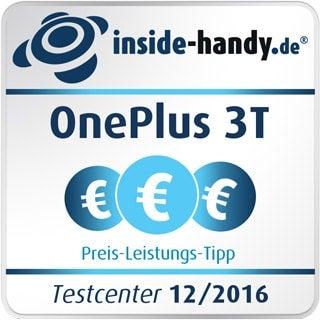 Preis-Leistungs-Siegel des OnePlus 3T
