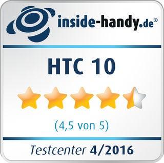 inside-handy.de Testsiegel für das HTC 10