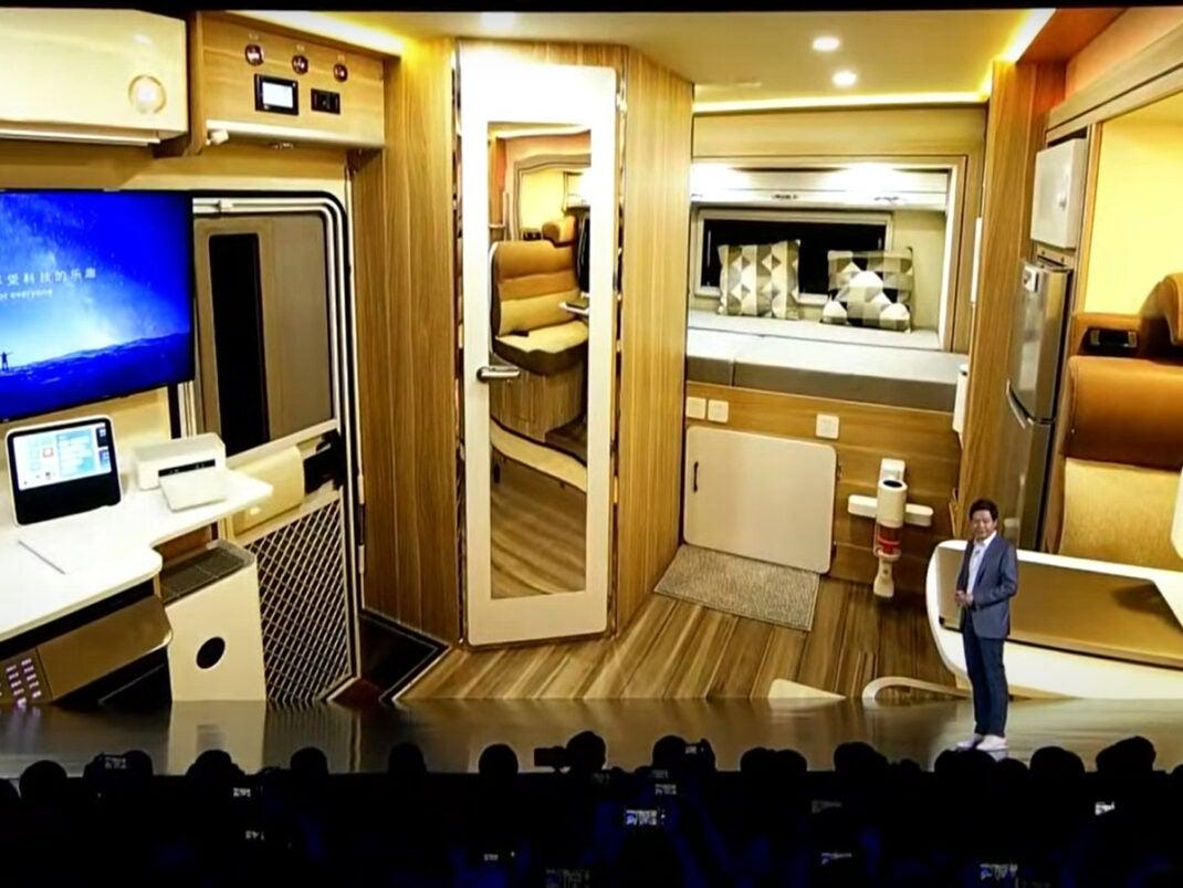 Interieur des Xiaomi Caravan Konzept