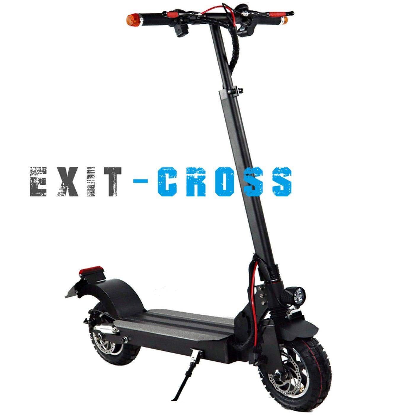 io hawk exit cross neuer e scooter f r stra e wald und. Black Bedroom Furniture Sets. Home Design Ideas