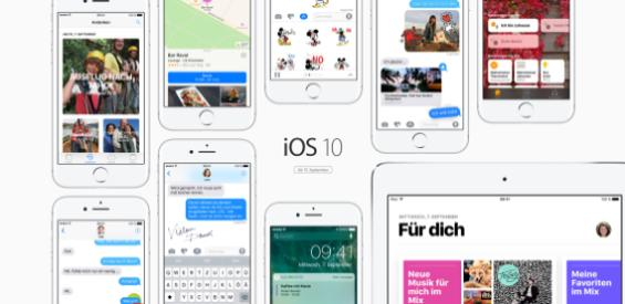 iOS 10 kommt am 13. September