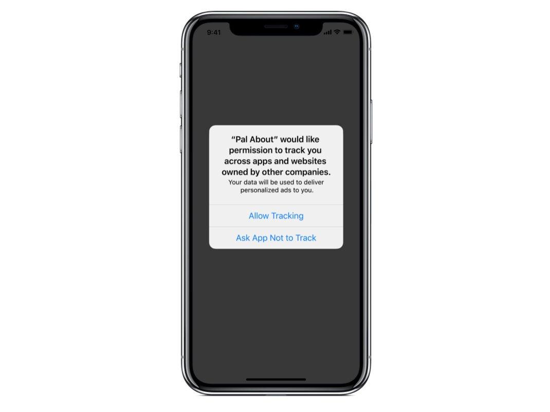 In iOS 14.5 können Anwendungen den Nutzer um die Erlaubnis zum Tracking über Apps und Webseiten befragen