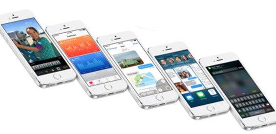 iOS 8 iPhone 5s Apple
