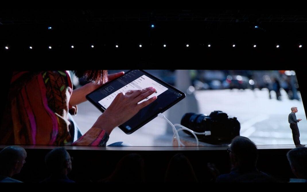 iPadOS Aktion