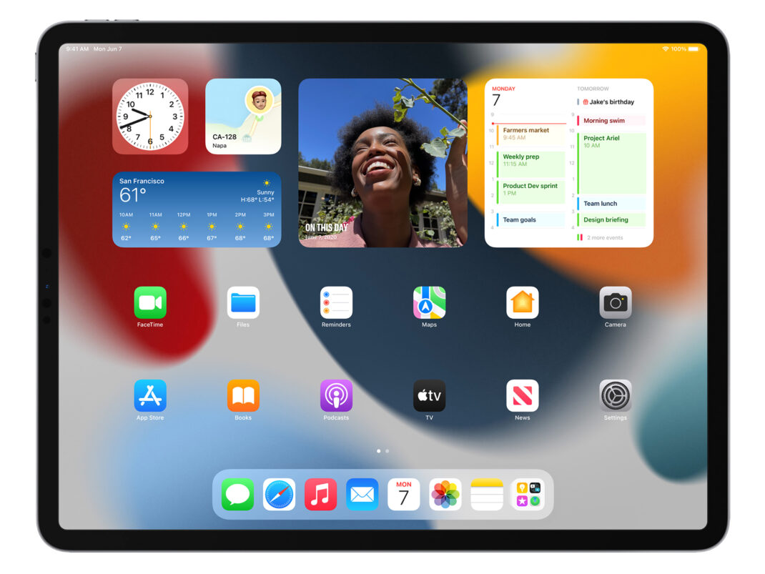 iPadOS 15 mit neuen Widgets