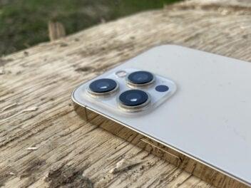 Die Kamera auf der Rückseite des iPhone 12 Pro Max