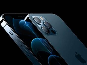 Vorder- und Rückseite des iPhone 12 Pro