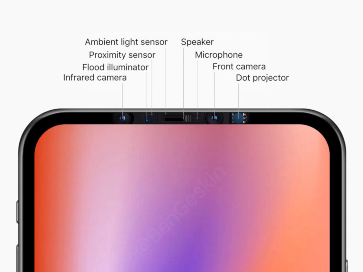 Apple iPhone 12 Sensoren Gerüchtebild
