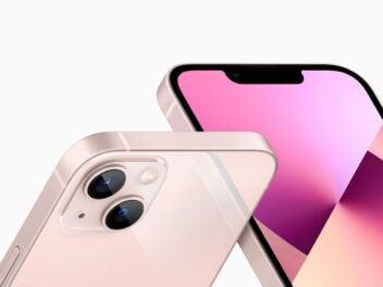 Aplpe iPhone 13 in weiß