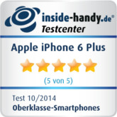 iphone 6 plus Testsiegel
