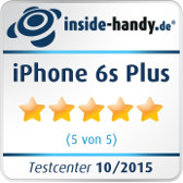 iPhone 6s Plus Testsiegel