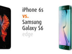 iPhone 6s vs. Samsung Galaxy S6 vs. Samsung Galaxy S6 edge