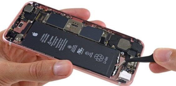 iPhone 6s zerlegt