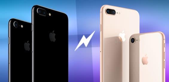 Im Vergleich: iPhone 7 (Plus) gegen iPhone 8 (Plus)