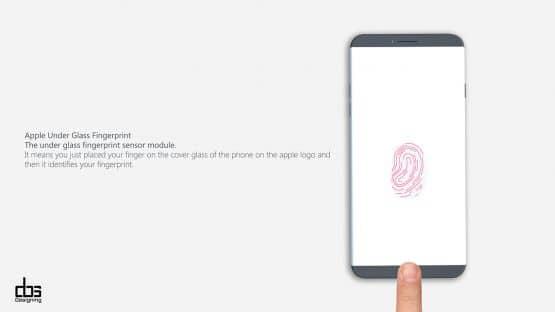 iPhone 8 Konzept von Behance