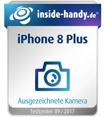 iPhone 8 Plus Kamera Siegel