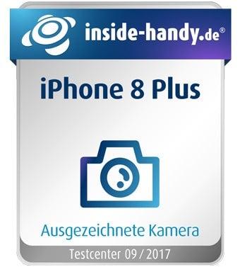 iPhone 8 Plus Kamera Siegel