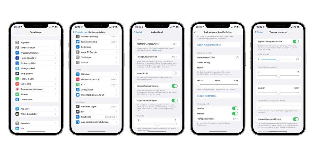 En lo profundo de las funciones de accesibilidad de iOS 15 se encuentra la nueva optimización de conversación