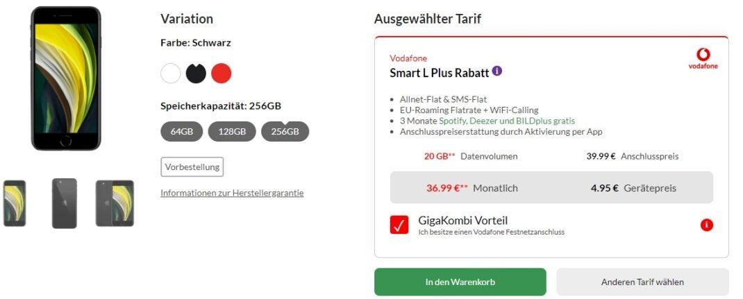 iPhone SE bei Preisbörse24
