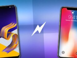 Iphone X vs Asus ZenFone 5Z
