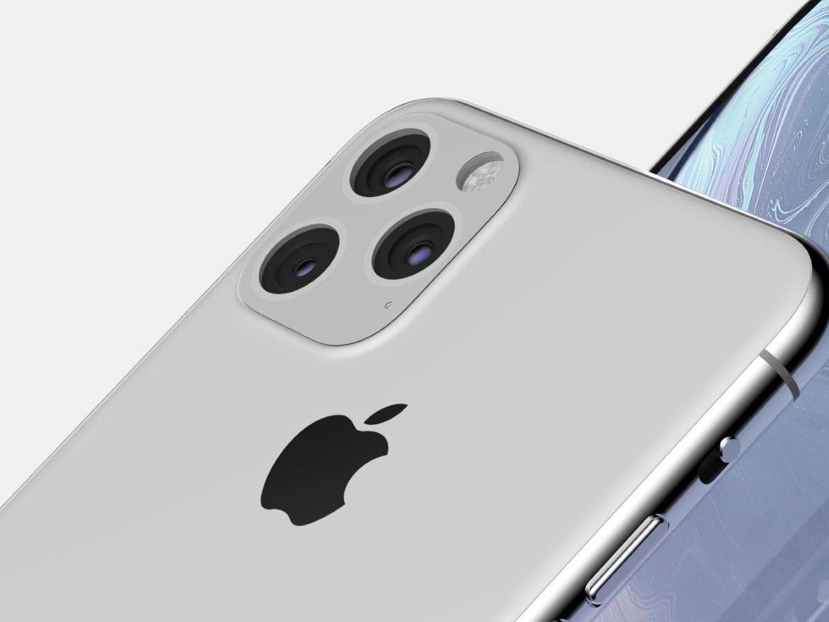 Die Triple-Kamera des iPhone XI Max im Detail.